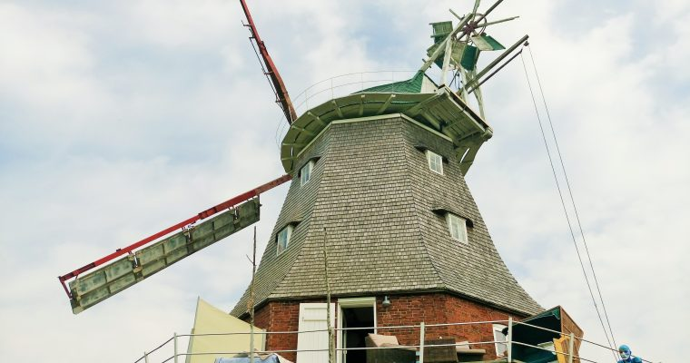 Urlaub in der Windmühle! Ferien mal anders