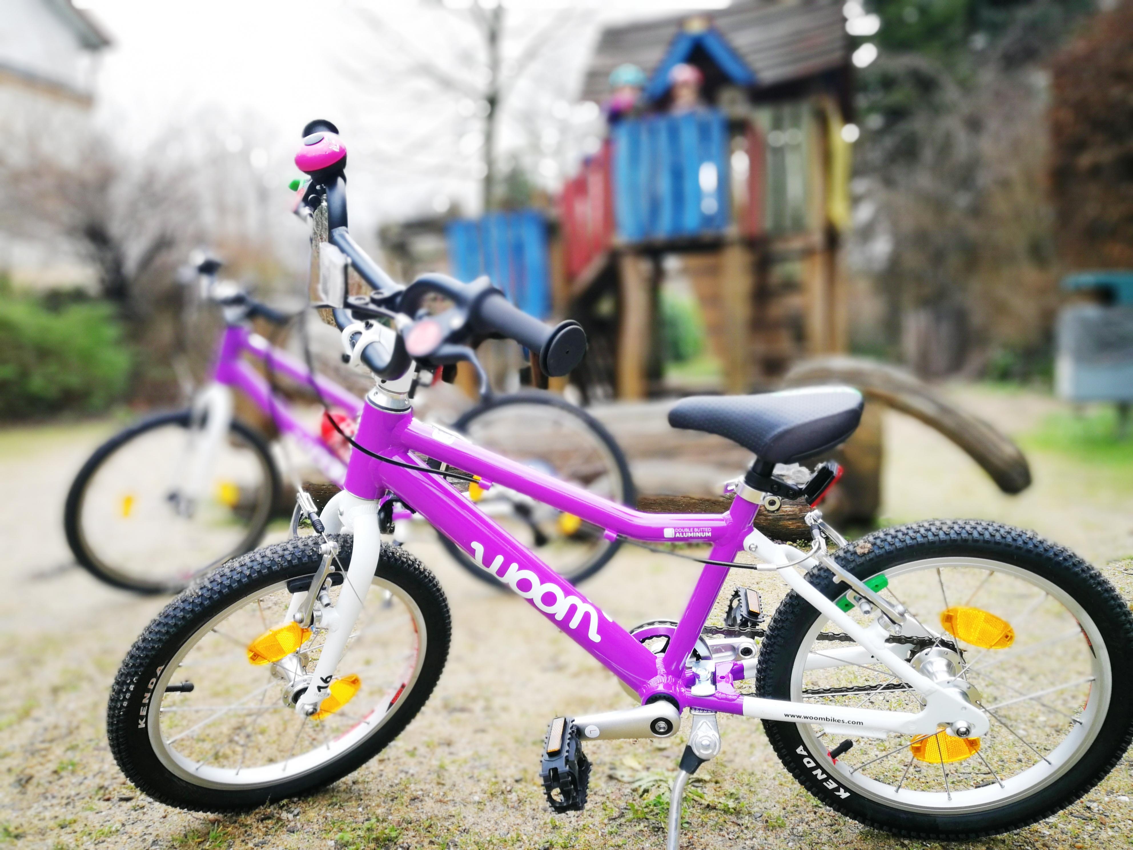 Und es hat Woom gemacht! Kinderfahrräder mit Wumms!